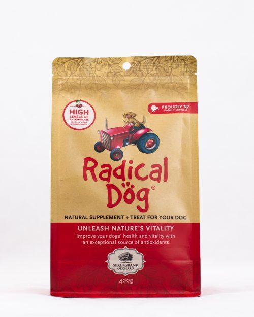 Radical Dog Premium Dog Biscuits Product, 400g